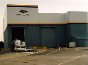A Sea Launch building
